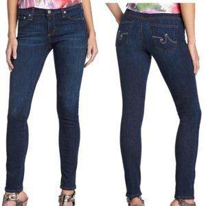 """like new AG """"The Legging Ankle Super Skinny"""" jeans"""
